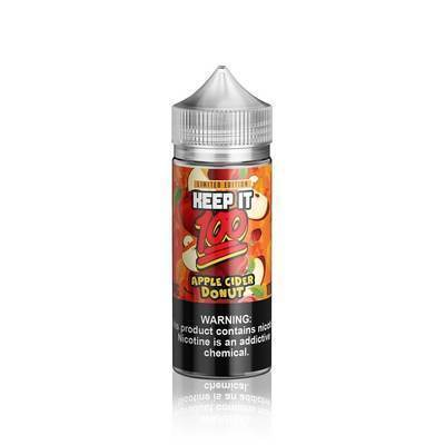 Keep It 100 | Apple Cider Donut 100ML eLiquid - Vaping Industries