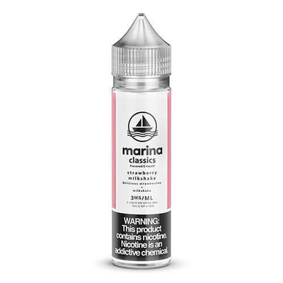 MARINA CLASSICS | Strawberry Milkshake 60ML eLiquid - Vaping Industries