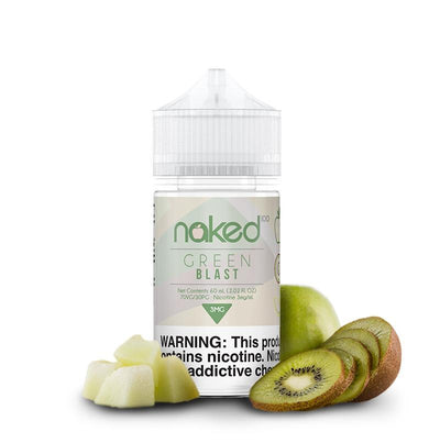 NAKED 100 ORIGINAL | Green Blast / Melon Kiwi 60ML eLiquid - Vaping Industries