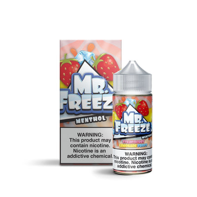 MR FREEZE MENTHOL | Strawberry Lemonade Frost 100ML eLiquid - Vaping Industries