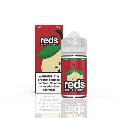 VAPE 7 DAZE | Reds Apple 60ML eLiquid - Vaping Industries