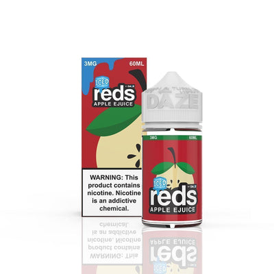 VAPE 7 DAZE | Reds Apple Iced 60ML eLiquid - Vaping Industries