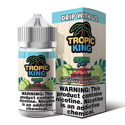 TROPIC KING | Cucumber Cooler 100ML eLiquid - Vaping Industries