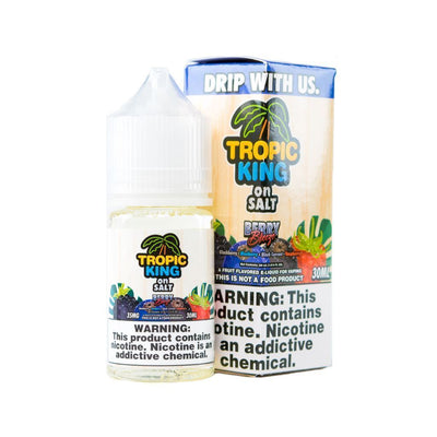 TROPIC KING ON SALT | Berry Breeze 30ML eLiquid - Vaping Industries