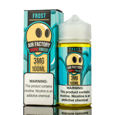 AIR FACTORY FROST | Tropical Freeze 100ML eLiquid - Vaping Industries