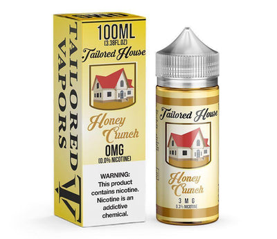TAILORED HOUSE | Honey Crunch 100ML eLiquid - Vaping Industries