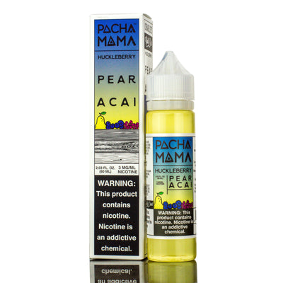 PACHAMAMA | Huckleberry Pear Acai 60ML eLiquid - Vaping Industries