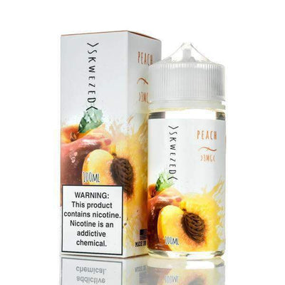 SKWEZED | Peach 100ML eLiquid - Vaping Industries