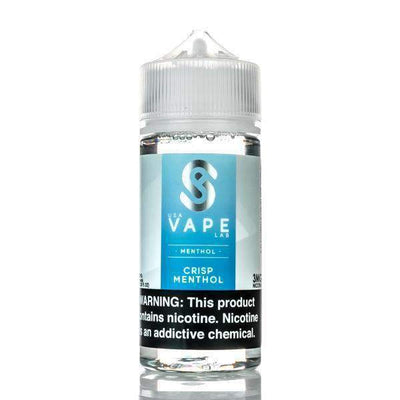 USA VAPE LABS | Crisp Menthol 100ML eLiquid - Vaping Industries