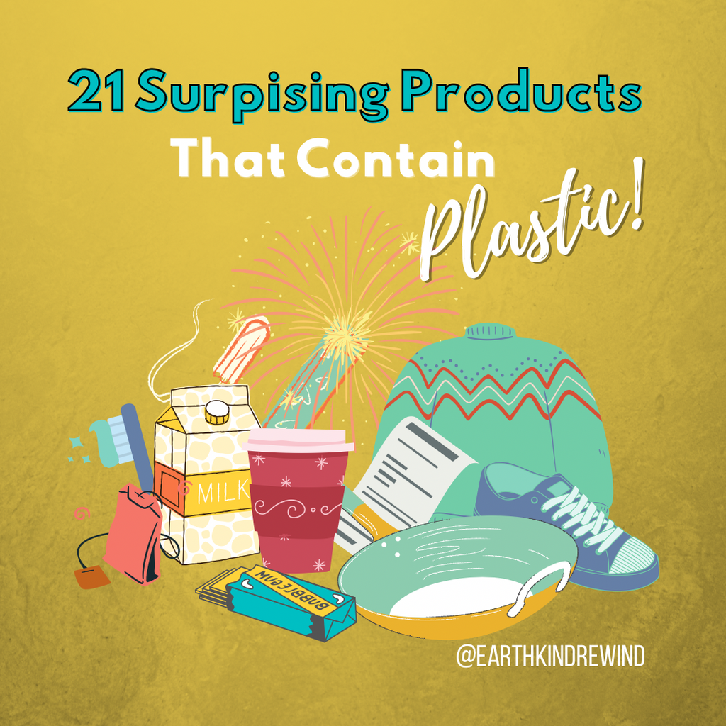 21 Surprising Products That Contain Plastic