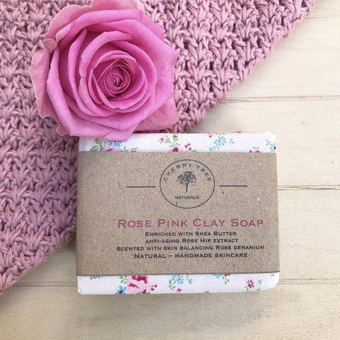 Rose Pink Clay Bar Soap