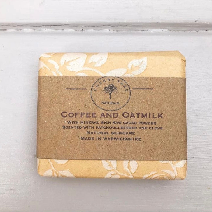 Coffee and Oatmilk Bar Soap