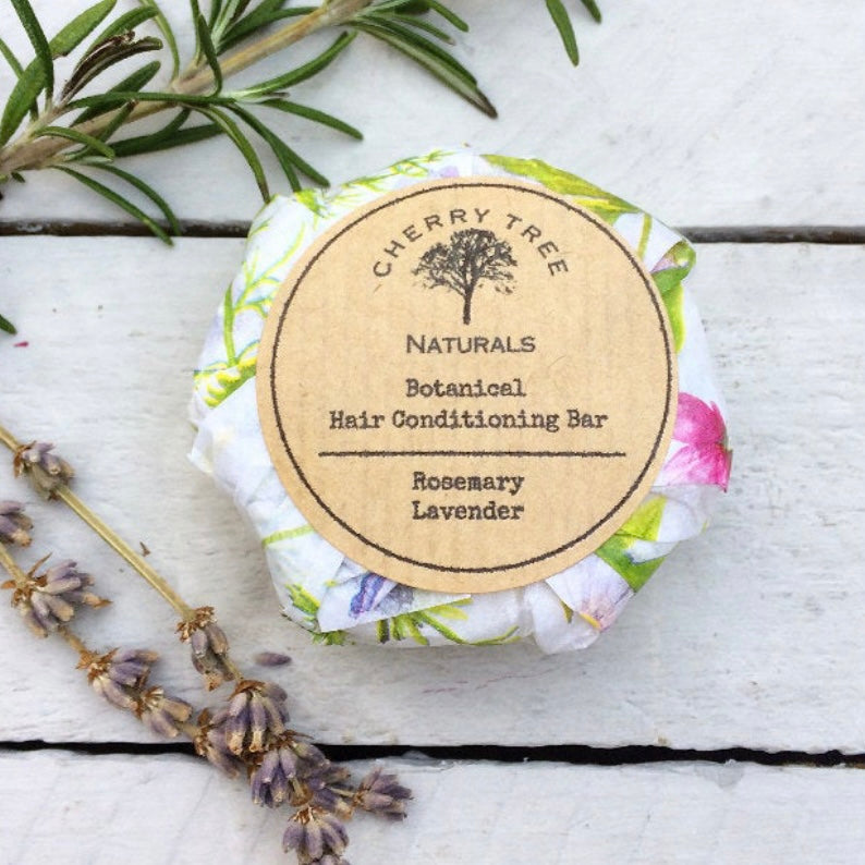 Solid Hair Conditioner Bar (Rosemary and Lavender)