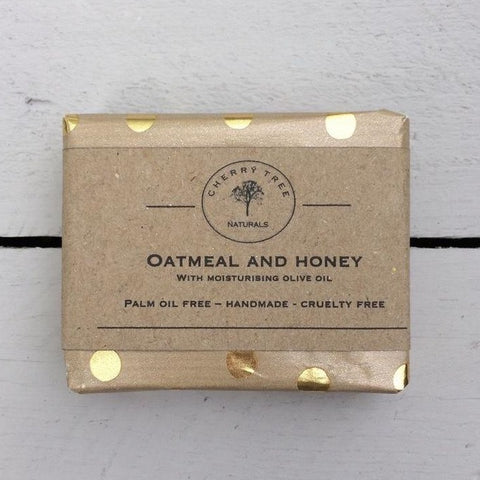 Oatmeal and Honey Soap -Unscented - Earth Kind, Rewind