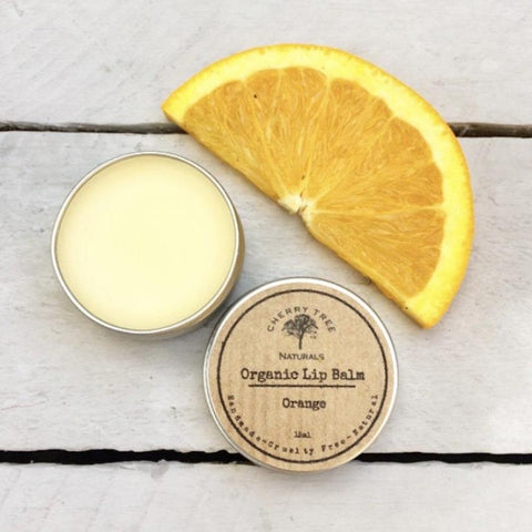 Organic Orange Lip Balm - Earth Kind, Rewind