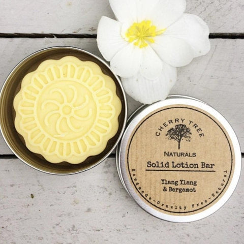 Ylang Ylang and Bergamot Solid Lotion Bar - Earth Kind, Rewind