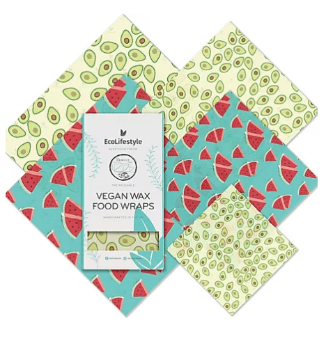 Vegan Wrap Family Pack -Summer Fruits - Earth Kind, Rewind