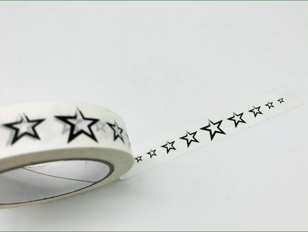 Recyclable Paper Tape - Stars