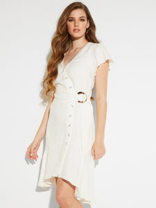 SS LUCIA WRAP DRESS