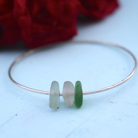 Simply Leilani Hawaiian Sea Glass Bangle