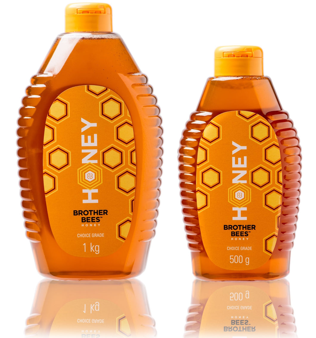 Honey 1kg bottle