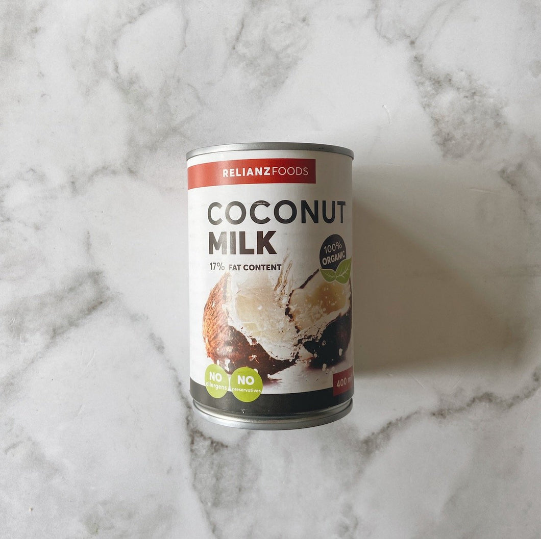 Coconut Milk 17% Fat Content