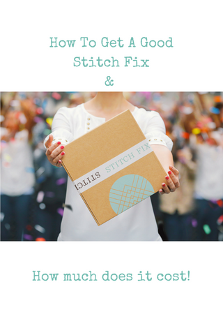 How to get a good stitch fix
