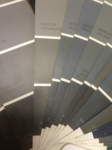 gray paint hues
