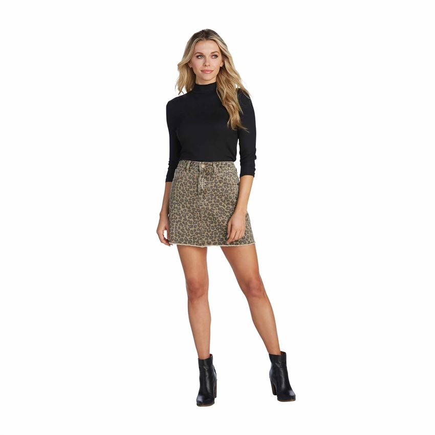 Stevie Skirt - Leopard