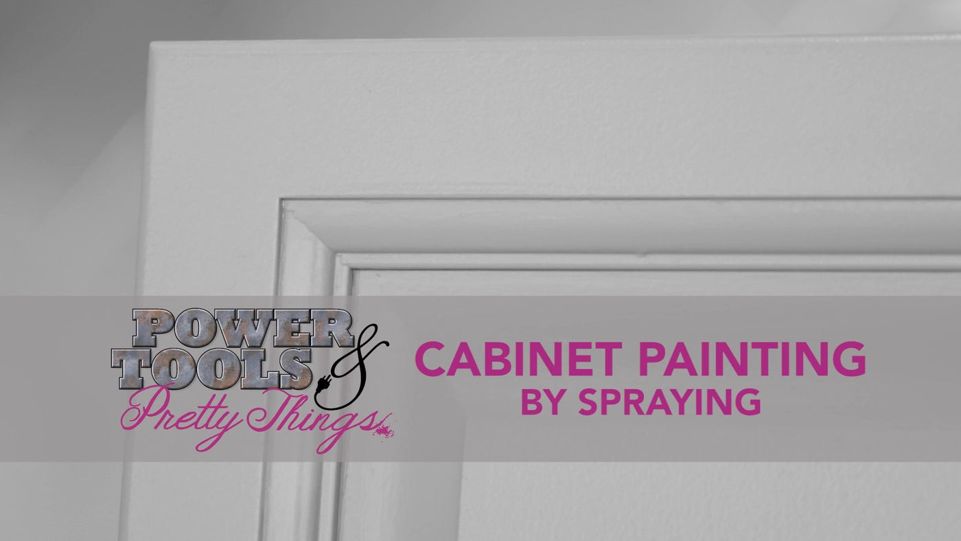 Cabinet Spraying DIY Video