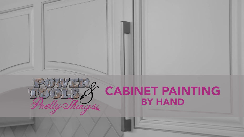 Cabinet Painting by Hand DIY Video