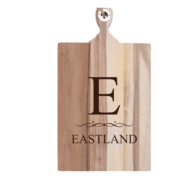 10 x 18 Personalized Cutting Board