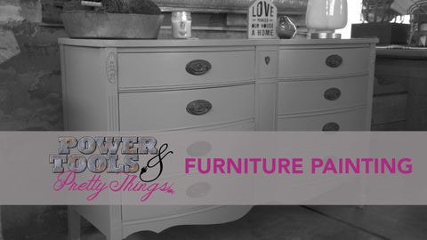Furniture Painting DIY Video