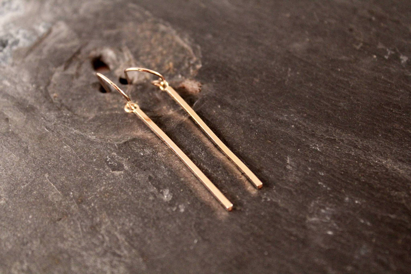 Vertical Bar Earrings - Simply Chic Jewelry