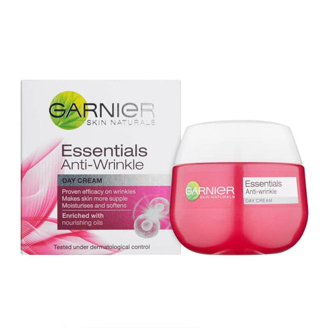 Garnier Skin Naturals Essentials Anti-Wrinkle Day Cream 50ml