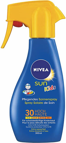 NIVEA SUN Kids Suncream Trigger Spray SPF 30, 200ml