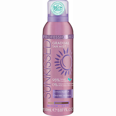 Sunkissed Bronze Professional Moisturiser Spray Tan - Medium/Dark 150ml