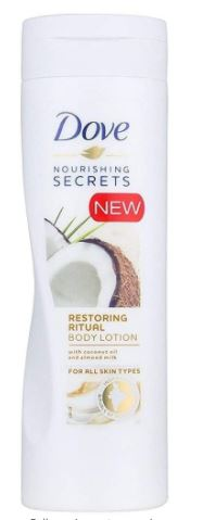 Dove Nourishing Secrets Coconut Oil Restoring Body Lotion, 250ml