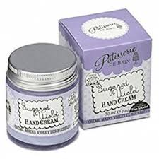 Rose & Co Patisserie de Bain Hand Cream Jar 30ml – Sugared Violet