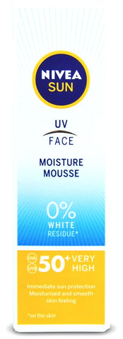 Nivea UV Face Moisture Mousse SPF50+ 75ML