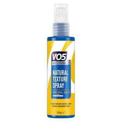 VO5 Natural Texture Spray Sealt Salt Lightweight Hair Finish Product 150ml