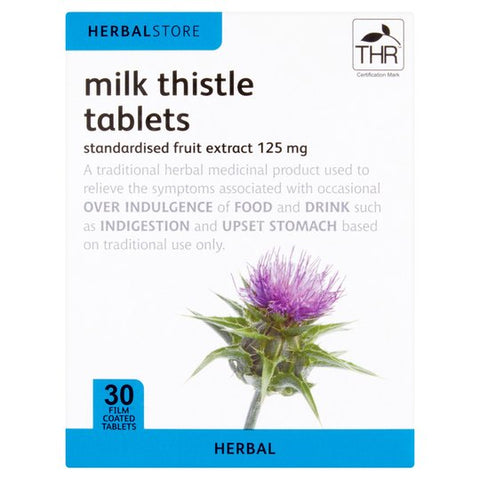 Herbalstore Milk Thistle 30 Tablets