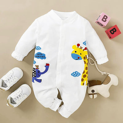 Baby New Cartoon Pattern Jumpsuit