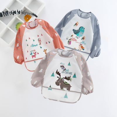 Single Waterproof Adorable Animal Printed Baby Bib
