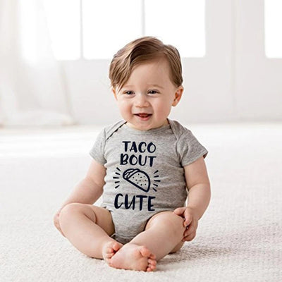 """Taco Bout Cute"" Lovely Baby Romper"