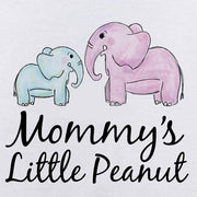 Mommy's Little Peanut Elephant Printed Baby Romper