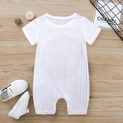 """Hello There""Lovely Letter Printed Baby Romper"