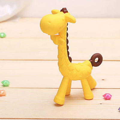 Silicone Giraffe Baby Molars Toy