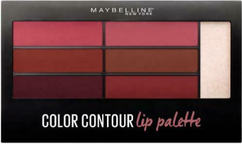 Maybelline Lip Studio Color Contour Lip Palette