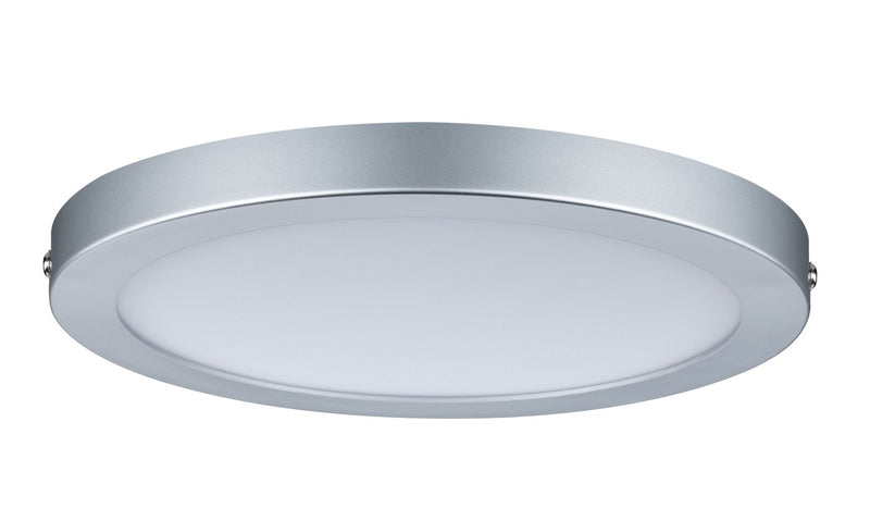 Panneau LED en saillie chrome rond